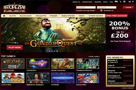 Verbesserte Umsatzbedingungen im Tropezia Palace Online Casino