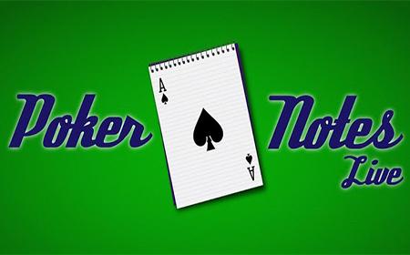 Verbessertes Pokerspiel mit der Poker Notes Live App