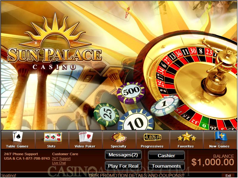 Sun Palace Casino Jackpot