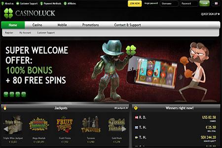 Über 700 Spiele im CasinoLuck und neue Handy-Plattform
