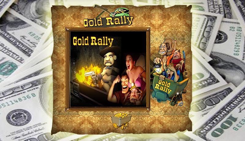 393.000$ Jackpotgewinn mit dem Gold Rally Spielautomat