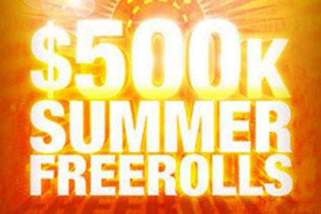 500.000$ Sommer Freerolls bei Full Tilt Poker