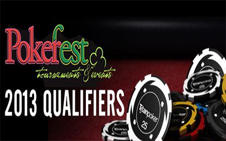 Titan Pokerspieler beim PokerFest 2013