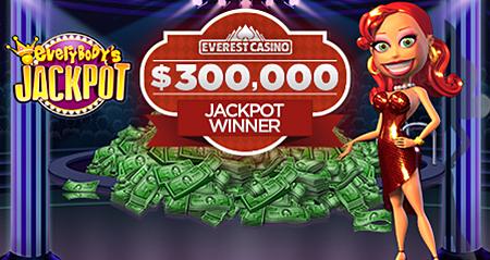Everest Online Casinospieler gewinnt 300.000$ Jackpot