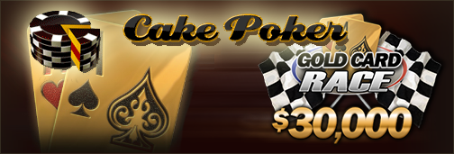 Gold Card Race bei Cake Poker