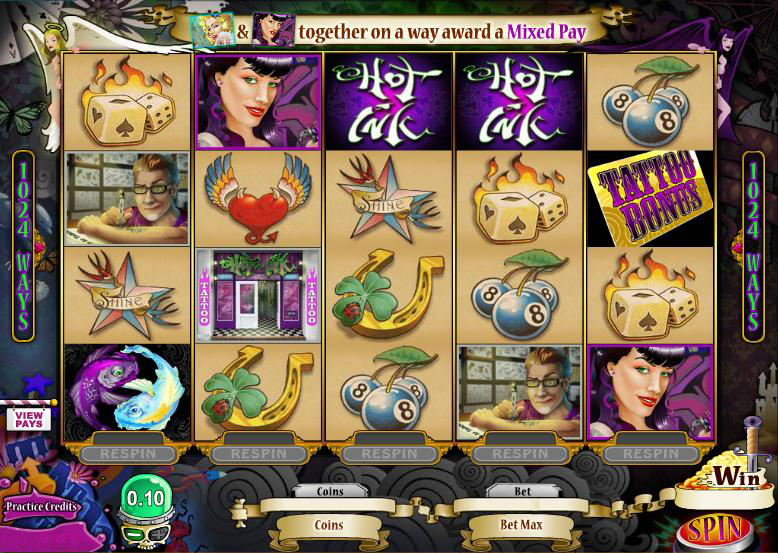 Hot Ink Aktion im Blackjack Ballroom Online Casino