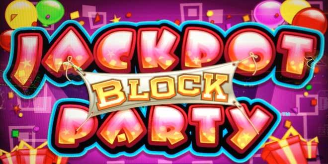 Jackpot Block Party logo