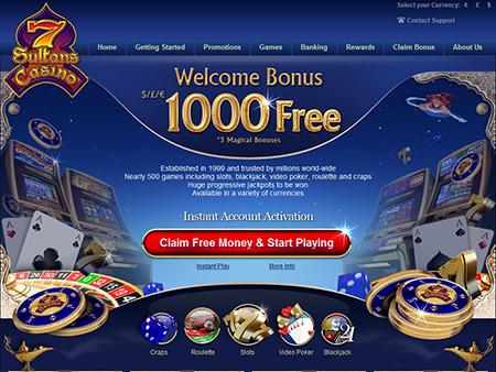 Januaraktionen im 7 Sultans Online Casino