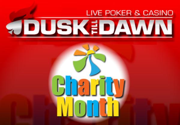 Monate mit Wohltätigkeitsprogramm bei Dusk Till Dawn