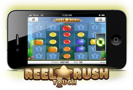 Neue Handy Touch Spielautomaten von Net Entertainment