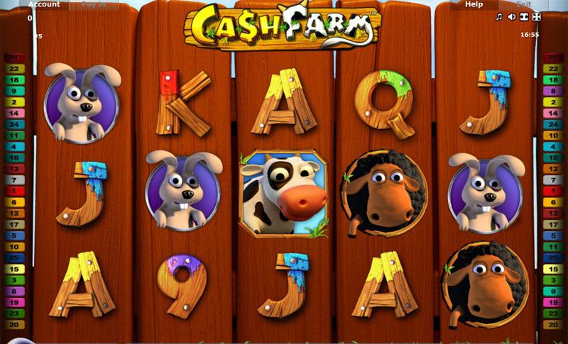 Novomatic Cash Farm Spielautomat im Online Casino