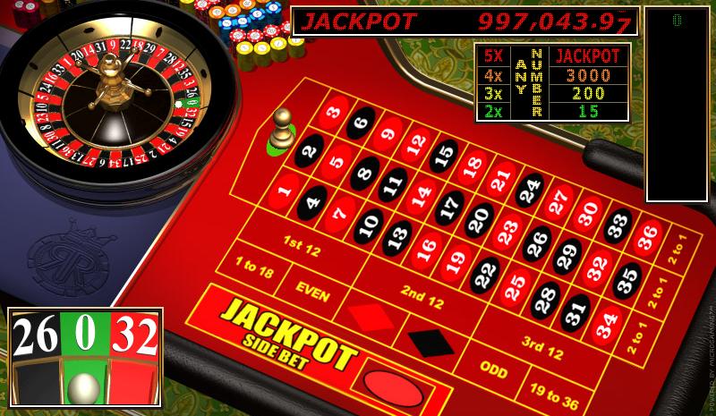 Roulette Versionen mit progressivem Jackpot im Online Casino