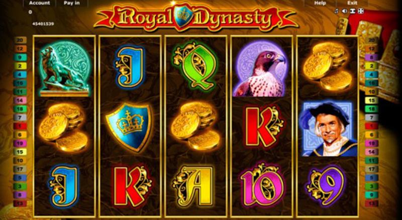 Royal Dynasty – Der neue Novomatic Online Spielautomat