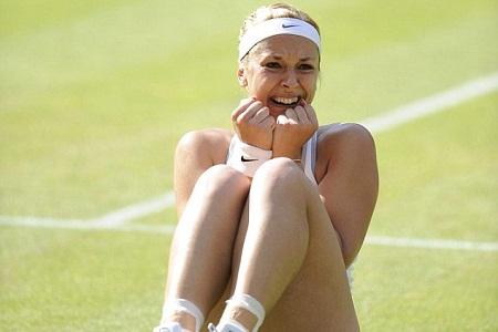 Schnellster Anschlag von Sabine Lisicki in der WTA-Geschichte