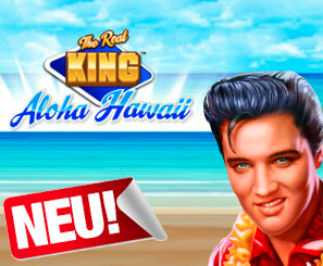The Real King Aloha Hawaii Spielautomaten
