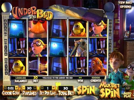 Unter den Betten im Online Casino