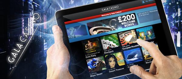 Wöchentliche iPad Vergabe im Gala Casino